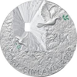 Финлиндия, 2009, Мир и безопасность, 20 евро, реверс
