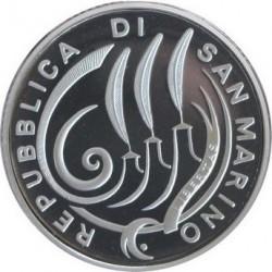 Сан-Марино, 2009, 10 лет евро, реверс