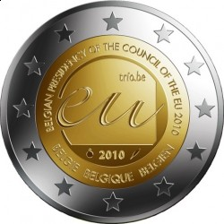 2 евро, Бельгия 2010