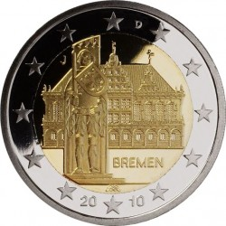 2 евро, Германия 2010