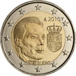 2 евро, Люксембург 2010