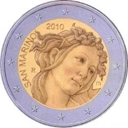 2 евро, Сан-Марино 2010