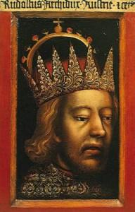 Рудольф IV - первый австрийский монарх, принявший титул эрцгерцога.