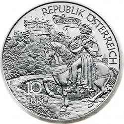 Австрия, 10 евро, Ричард Львиное Сердце, аверс