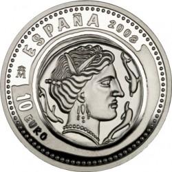 Испания, 10 евро, драхма, Эмпорион, аверс