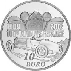 Франция 2009 Бугатти 10 евро, реверс