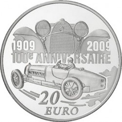 Франция 2009 Бугатти 20 евро, аверс