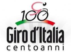 Логотип 100-летней гонки Джиро д'Италия