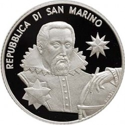 Сан-Марино, 5 евро, 2009, Кеплер, аверс