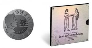 7 евро, 500 лет бракосочетания Иоанна Люксембургского и Елизаветы, Люксембург