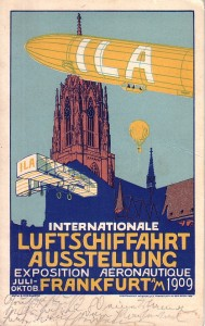 Плакат авиавыставки 1909 года