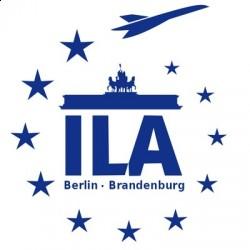 Логотип Международного авиакосмического салон в Берлине ILA
