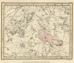 Дева на Звездном атласе А.Джеймсона, 1822 г.