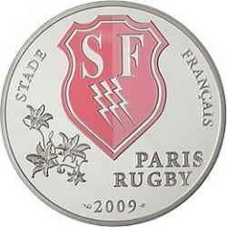 10 евро, Франция, 2009, Stade Français, реверс