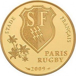 50 евро, Франция, 2009, Stade Français, реверс