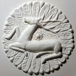 Медальон с оленем
