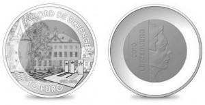 10 евро, 25 лет Шенгенского соглашения, Люксембург
