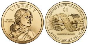 Дизайн новой монеты серии «Американские индейцы»