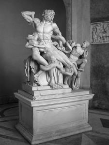 Лаокоон. Музей Пия-Климента. Ватикан