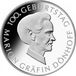 Марион графиня Дё́хоф, 10 евро, Германия, аверс