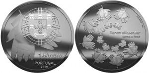 1.5 евро «Одна монета против голода»