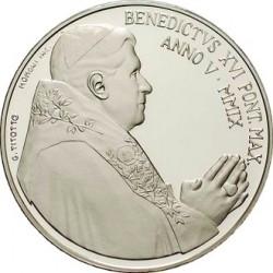 Ватикан 2008, 42-й Международный День Мира, аверс