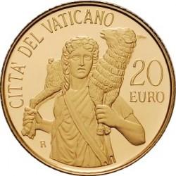 Ватикан, 20 евро, Лаокоонт, 2009, реверс