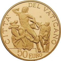 Ватикан, 20 евро, 2009, Добрый пастырь, аверс