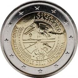 2 евро, Ватикан (Международный год астрономии)