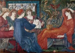 Хвала Венере (Эдвард Бёрн-Джонс, 1873-1875, Ньюкастл, музей)