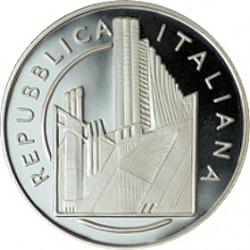 10 евро, Италия, 100 лет появления футуризма, аверс