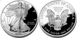 США, 1 доллар, «Американский орел»