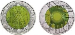 Австрия, 25 евро, «Очарование света»