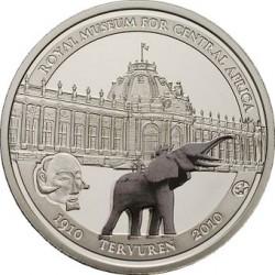 10 euro Бельгия, 2010 (Королевский музей Центральной Африки)