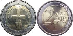 Кипр, 2 евро, «Помосский идол»