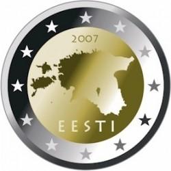 Эстонские монеты евро