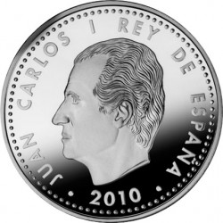 Испания, 2010, 10 евро, председательство Испании и ЕС, аверс