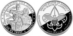 Новая коллекционная монета США