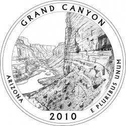 Гранд-Каньон вновь на американском квотере :)