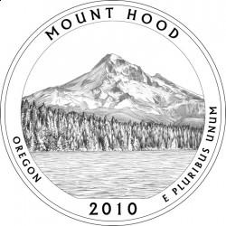 Национальный лес Маунт Худ на пятой монете серии