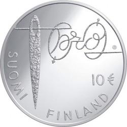 Финляндия, 10 евро, 2010, Минна Кант, аверс