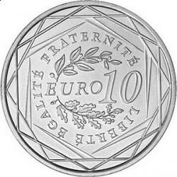 Франция 2009, 10 евро