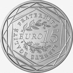 Франция, 2008, 15 евро