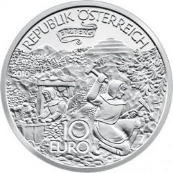 Австрия, 10 евро, 2010, Эрцберг в Штирии, аверс