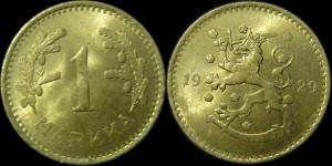 1 марка 1929 года