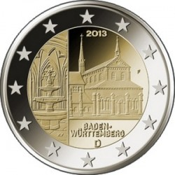 2 евро, Германия, 2013
