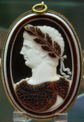 Камея с бюстовым изображением имератора Клавдия (Париж, 1791)