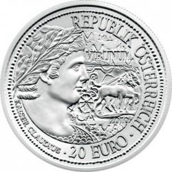 Австрия, 2010, 20 евро, Вирунум (Virunum), аверс
