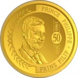 Бельгия, 2010, 100 евро, принц Филипп, аверс