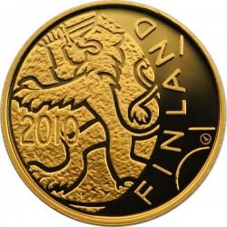 100 евро, 150 лет финским деньгам, аверс